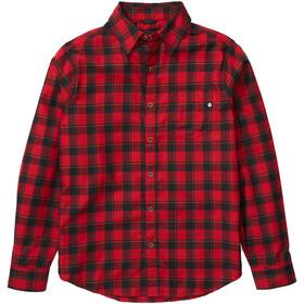 Marmot Bodega Lightweight Camisa Franela Manga Larga Hombre, dark fire